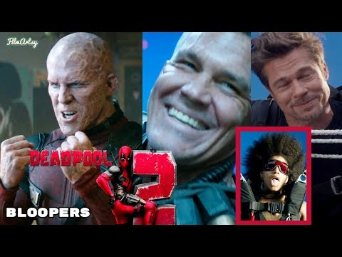 Deadpool 2 Hilarious Bloopers and Gag Reel  Full Outtakes  Ryan Reynolds 2018