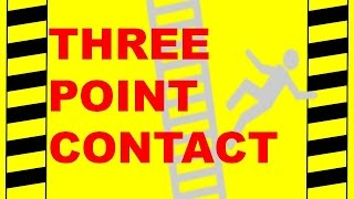 Three Point Contact - Safety Training Video - Prevent Falls and Injuries