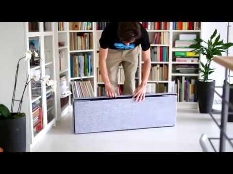 Pouf Contenitore Level Design.Pouf Contenitore In Tessuto Per Letto E Poggiapiedi Idee Per Arredare Casa
