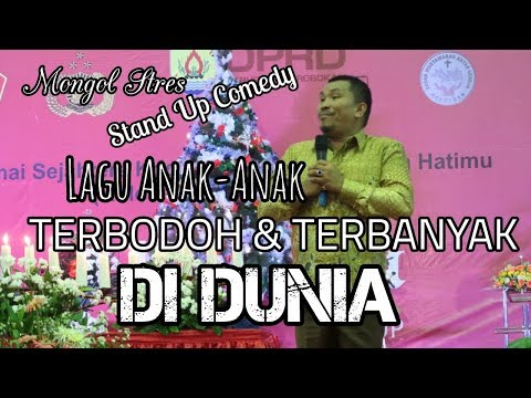 LUCU! STAND UP COMEDY MONGOL STRESS DI PURWODADI 2018 FULL