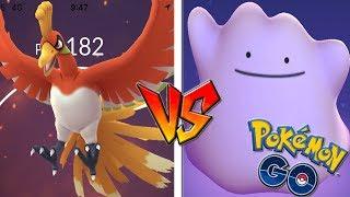 QUÉ PASA si USO DITTO CONTRA HO-OH en Pokémon GO!? Nuevo Legendario! [Keibron]