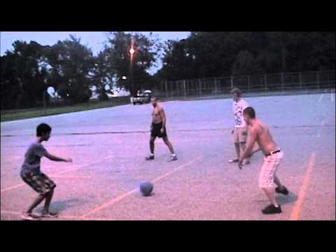 four square: meet the pros of the four square game - YouTube