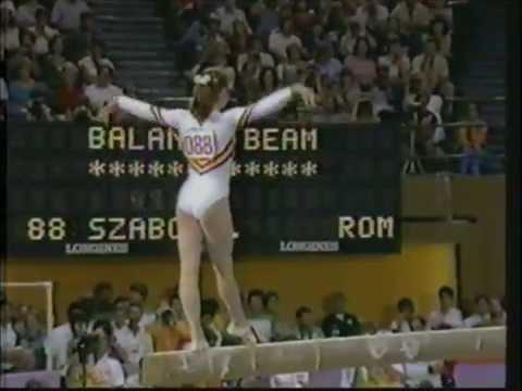 1984 Olympic Games   Gymnastics   Women's Balance Beam
