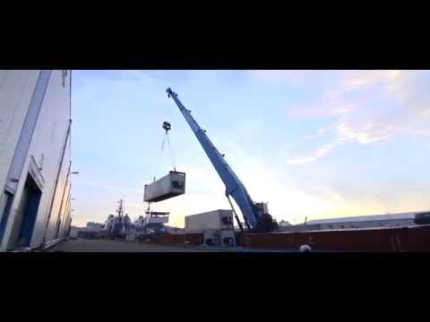 Cranebarge Services; Sustainable Port Logistics in Rotterdam