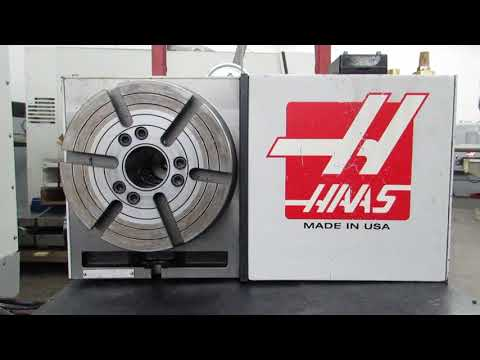 Haas HRT 210 Programmable Rotary Table (Brush Drive)