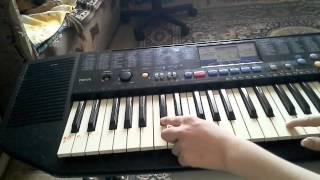 Как играть собачий вальс на пианино(Простой способ играть популярную мелодию собачий вальс на пианино и синтезаторе., 2015-04-06T08:36:20.000Z)