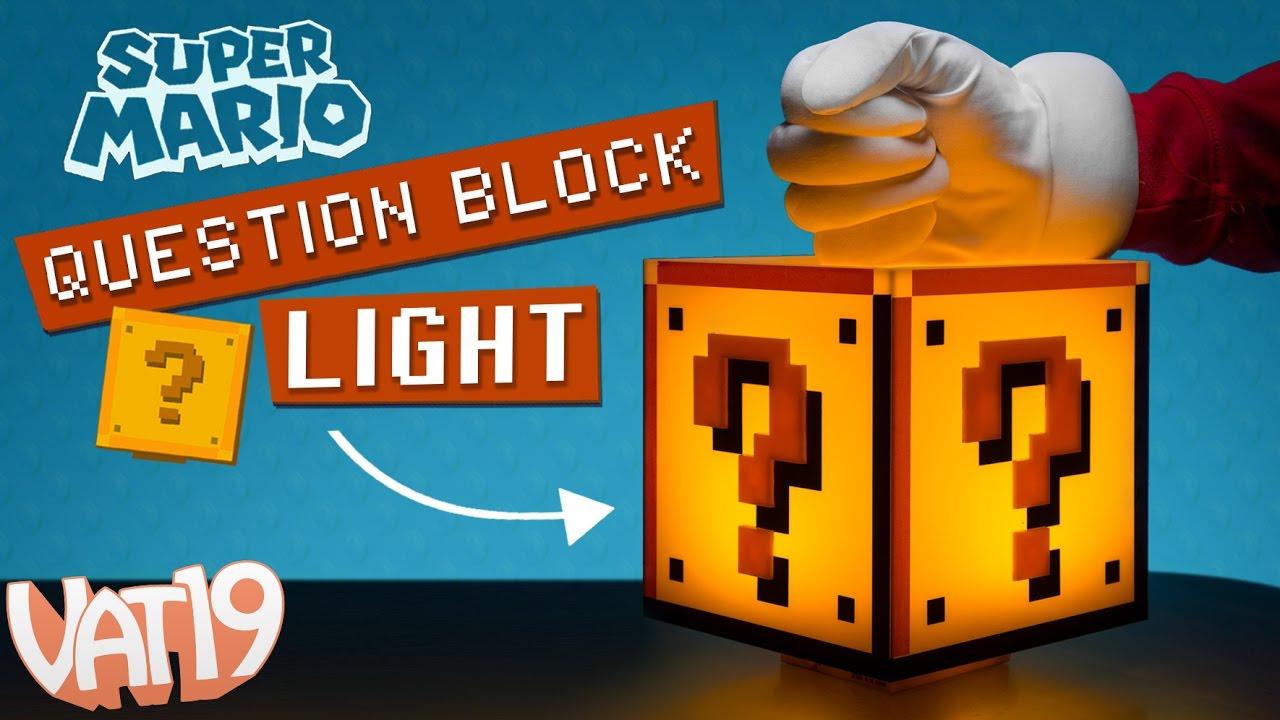 Super Mario Block Light
