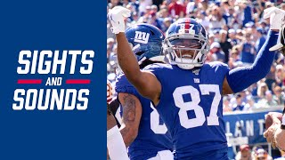 """Top Sounds from the Giants DOMINATING Win over the Redskins """"I'm here for a reason!"""""""