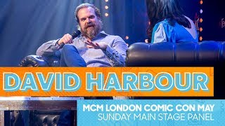 David Harbour Q&A | Dad Dancing, Stranger Things and Hellboy | MCM London Comic Con