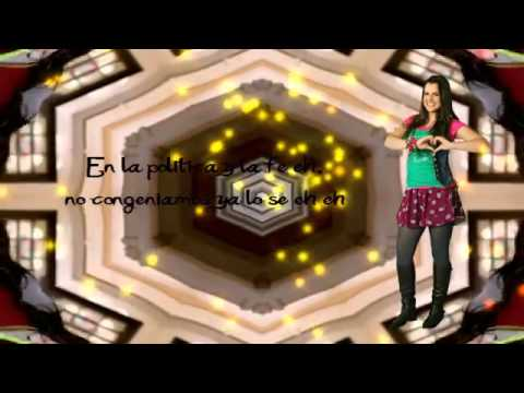 nueva cancion de grachi - goma de mascar - paty cantu - karaoke.flv