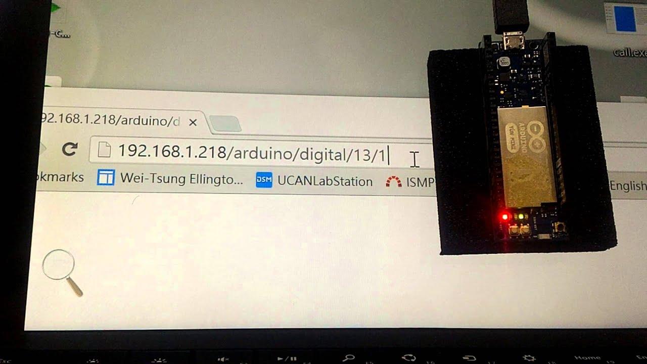 Arduino Yun Mini Projects Yn Semaf Electronics Arduinoduepinoutdiagram Bridge Demo Youtube