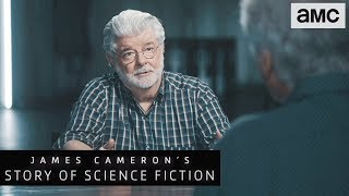 George Lucas on Star Wars Being Anti-Authoritarian | James Cameron's Story of Science Fiction