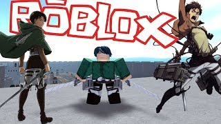 DEFEND EREN! CAPTAIN LEVI GOES BOSS MODE! ROBLOX!