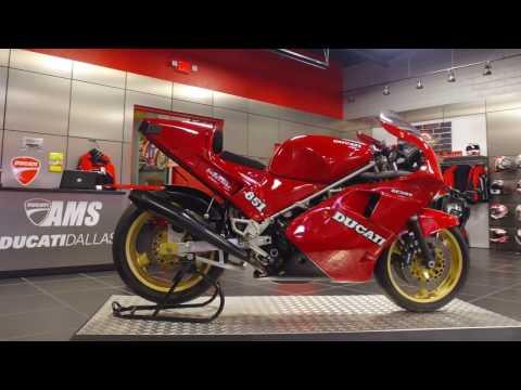 1989 Ducati 888 Marco Lucchinelli Replica