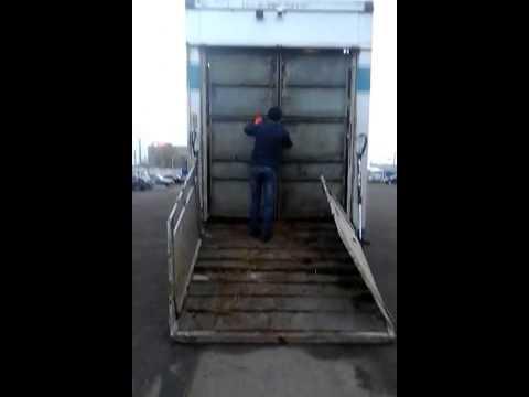 Прицеп для перевозки крупного рогатого скота