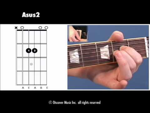 Guitar Chord Open Asus2 Youtube