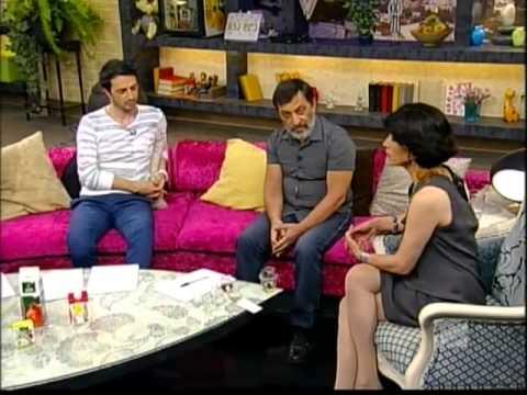გია ნადარეიშვილი ტოქშოუში შუა დღე რუსთავი2  George Nadareishvili on Rustavi 2 Georgian TV