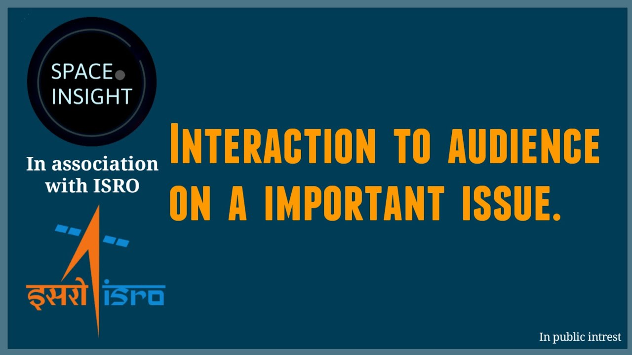 An Important Interaction to audiace on an Imp. Issue