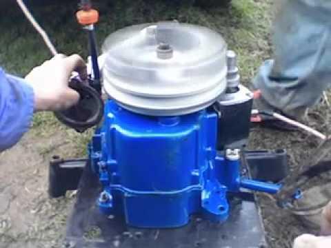 Tecumseh Racing Mower Engine - YouTube
