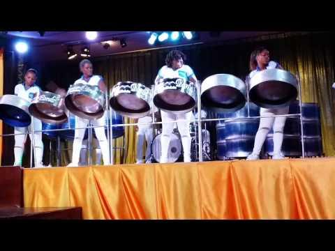 Jamaica Steel Drum show  3 Montego Bay Riu 2015