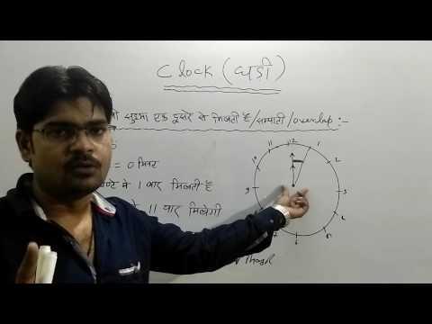 Clock Reasoning Tricks In Hindi (Part 1),घडी का प्रश्न अब नहीं फसेगा