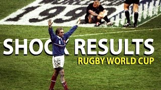 Rugby World Cup: Five of the biggest shock results