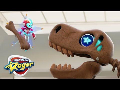 Space Ranger Roger | Roger's T-Rex Trouble...