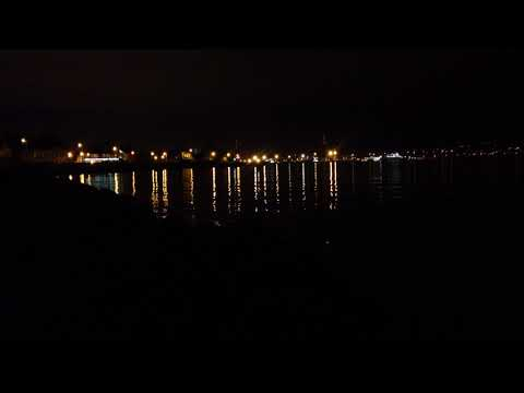 N Ireland Sea, City Lights On Belfast Lough - Relax Meditate Landscape Scenery