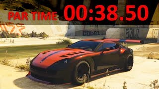 GTA Online: Beating a Bike Bias Time Trial with Super & Sports Cars