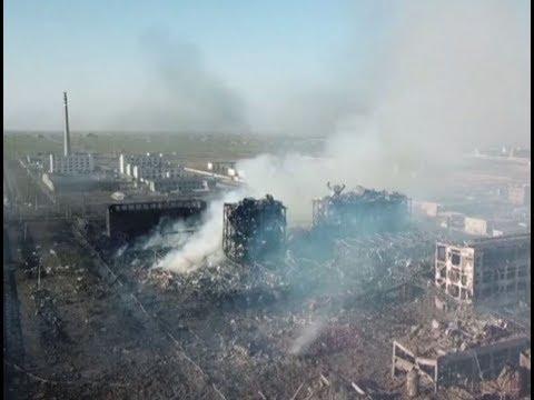 لقطات تظهر حجم الدمار الذي خلفه انفجار مصنع كيماويات بالصين  - نشر قبل 8 ساعة