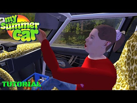 [TUTORIAL] GIRLFRIEND SUSKI - THANK YOU FOR PLAYING - My Summer Car #176 | Radex