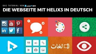 Helix3 in Deutsch - Installation einer Helix3 Webseite