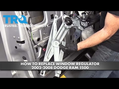 How to Replace Window Regulator 2002-08 Dodge RAM 1500