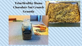 Trim Healthy Mama Chocolate Nut Crunch Granola-E