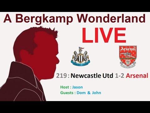 #ABWLive : 219 - Newcastle Utd 1-2 Arsenal (Premier League)