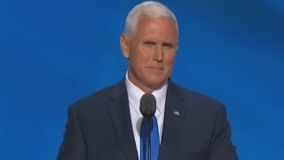 Gov. Mike Pence Full Speech at the Republican National Convention. July 20, 2016. RNC. Cleveland