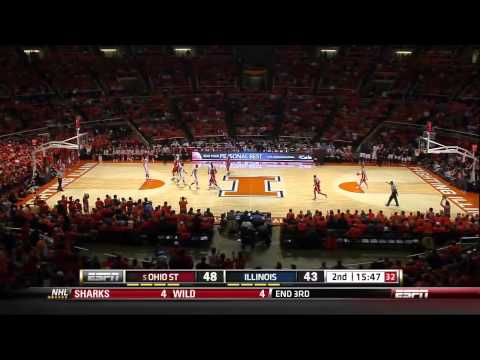 2012 #5 Ohio State Buckeyes vs Illinois Fighting Illini: The Brandon Paul Game (Full Game)