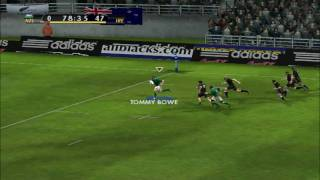 EA Rugby 08 - Ireland VS All Blacks (elite)