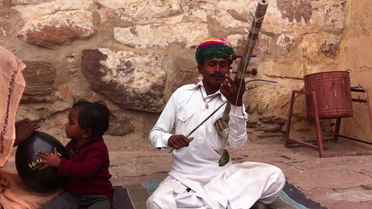Traditional rajasthani folk music on the rewanatha youtube.