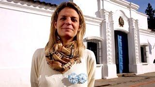 En Tucumán, Julieta se prendió a la Bi-Escarapela ¡Hace como ella!