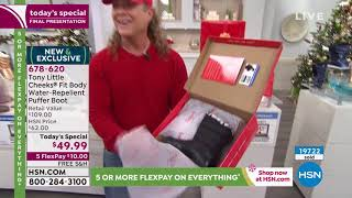 Hsn | Great Gifts Featuring Tony Little Footwear 12.19.2019 - 08 Pm