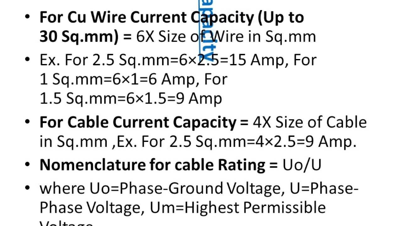 Perfect 2 Awg Aluminum Wire Amp Rating Elaboration - The Wire ...