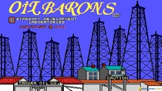 Oil Barons gameplay (PC Game, 1992)