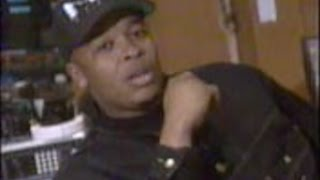 Dr. Dre introduces Death Row 1st time & forgets Tha Dogg Pound! Rap City Interview