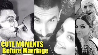 Ranveer Singh & Deepika Padukone's CUTE MOMENTS Before Marriage | DeepVeer Wedding Latest Updates
