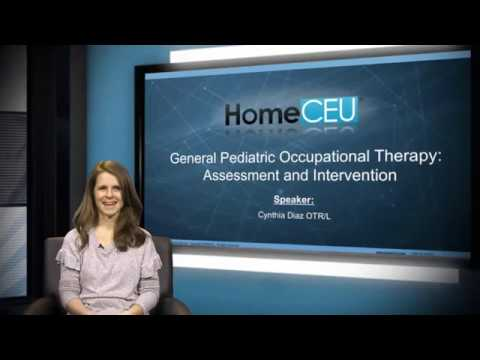 SNIPPET – General Pediatric Occupational Therapy: Assessment and Intervention