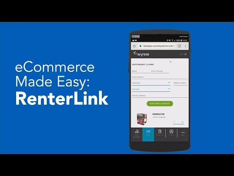 eCommerce Made Easy with RenterLink: Demo