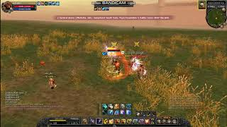 Silkroad online old boy 110 cap Pvp Warrior/Cleric Vs Dagger/Cleric Raund 2