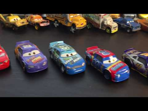 Upstairs Review Desk BRAND NEW Cars 3 New Racers Primer Lightning