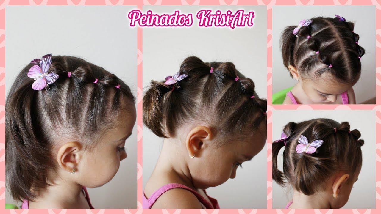 Peinados Para Ninas Bebes De 2 Anos Peinados Con Ligas